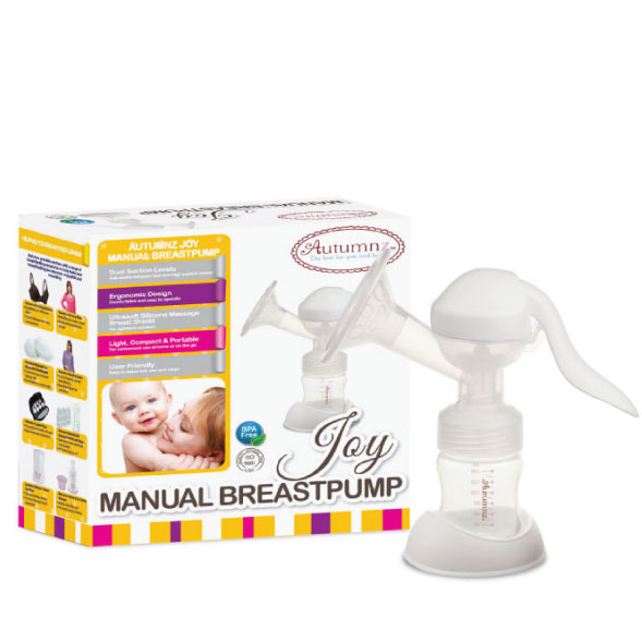 Joy Manual Breast Pump Free BPA