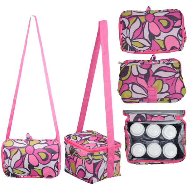 Autumnz - Fun Foldaway Cooler Bag (Peony)