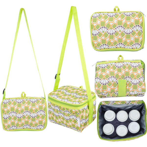 Fun Foldaway Cooler Bag (Fresh Bells)