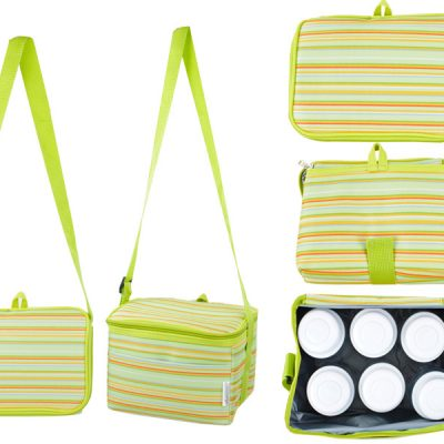 Autumnz - Fun Foldaway Cooler Bag (Spring Green)