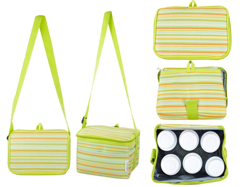 Autumnz - Fun Foldaway Cooler Bag (Spring Green)