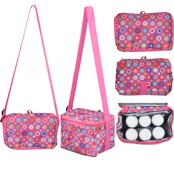 Autumnz - Fun Foldaway Cooler Bag (Twirly Whirly)
