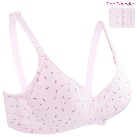 Autumnz - ROSIE Padded Maternity/Nursing Bra (Pink)