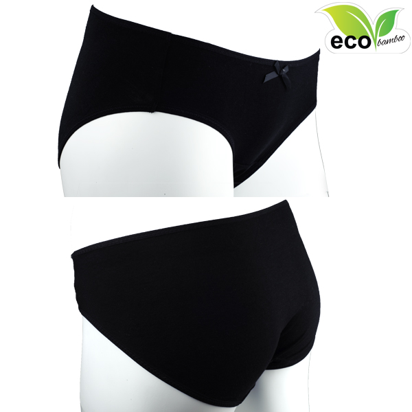 Martha Panties Black Eco