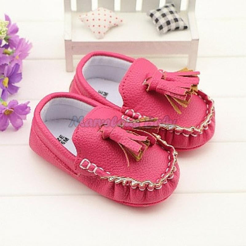 LV Pink Prewalker Shoe 1