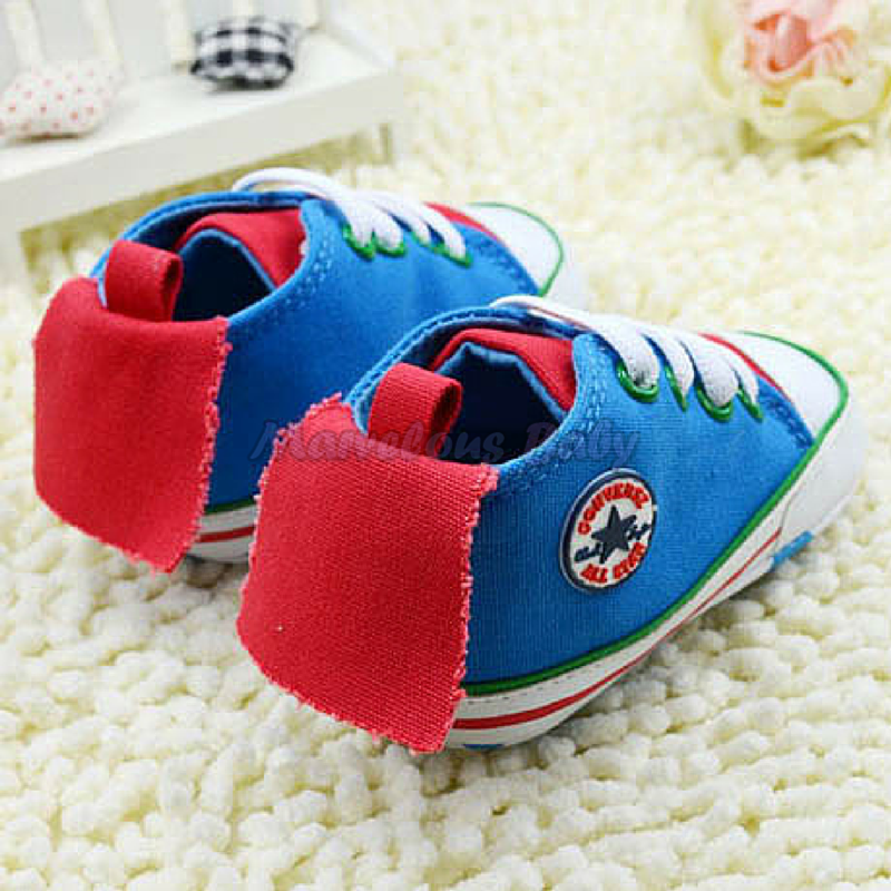 Converse Blue Flying 2