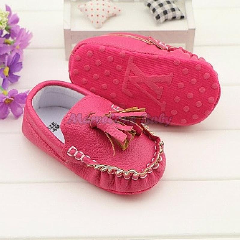 LV Pink Prewalker Shoe 2