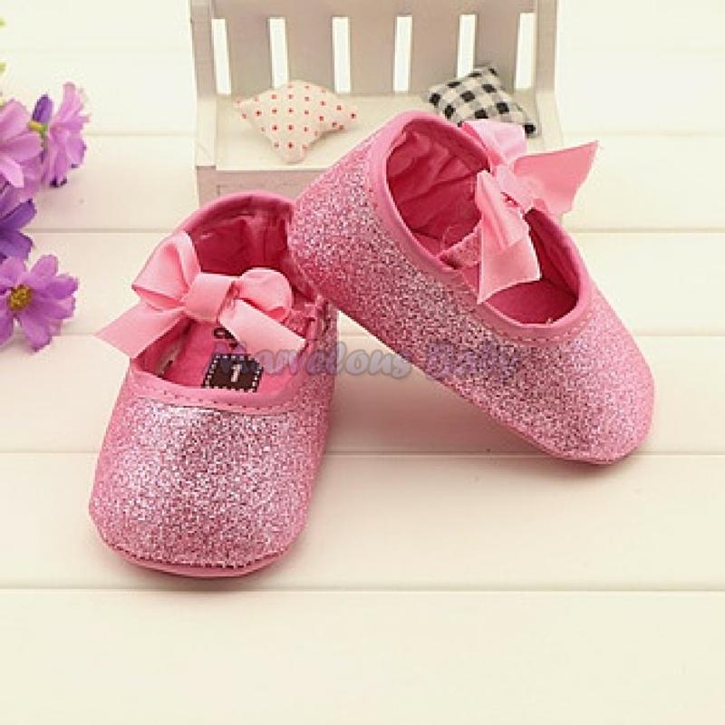Carter's Pink Glitters Prewalker Shoe 2