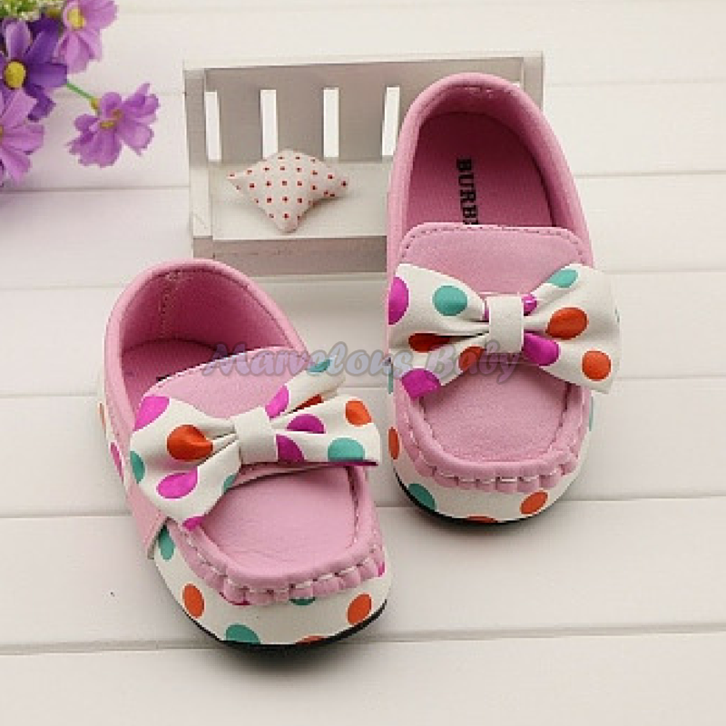 Burberry Colorful Polkadot Toddler Shoe 3