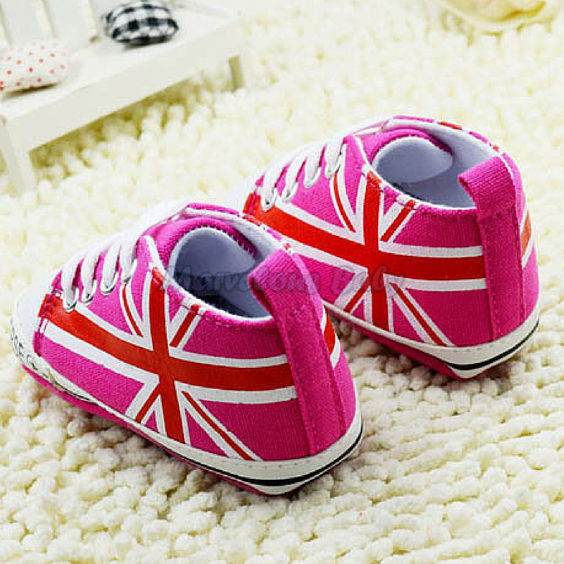 Converse Hot Pink Britain Prewalker Shoe 3