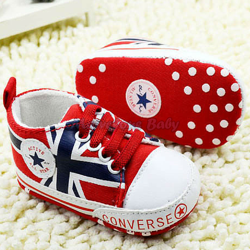 Converse Red Great Britain 3