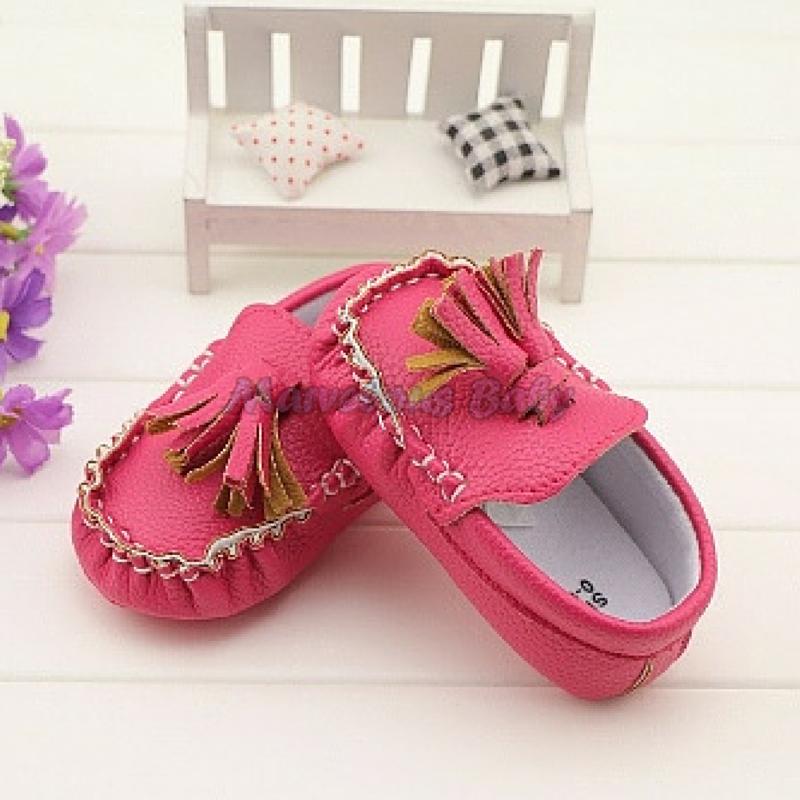 LV Pink Prewalker Shoe 5