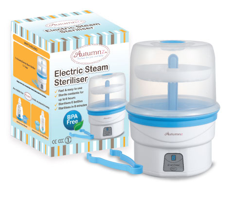 Autumnz - Electric Steam Steriliser (Blue)