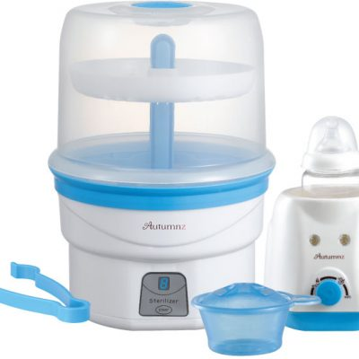 Autumnz - Electric Steam Steriliser + Home Warmer Combo (Blue)