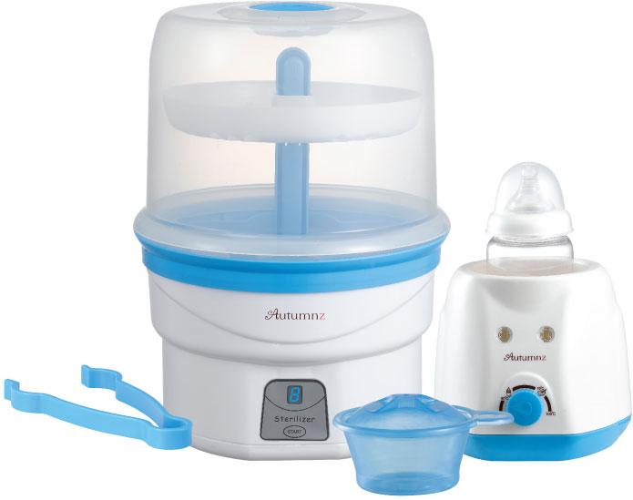 Autumnz - Electric Steam Steriliser + Home Warmer Combo (Blue)