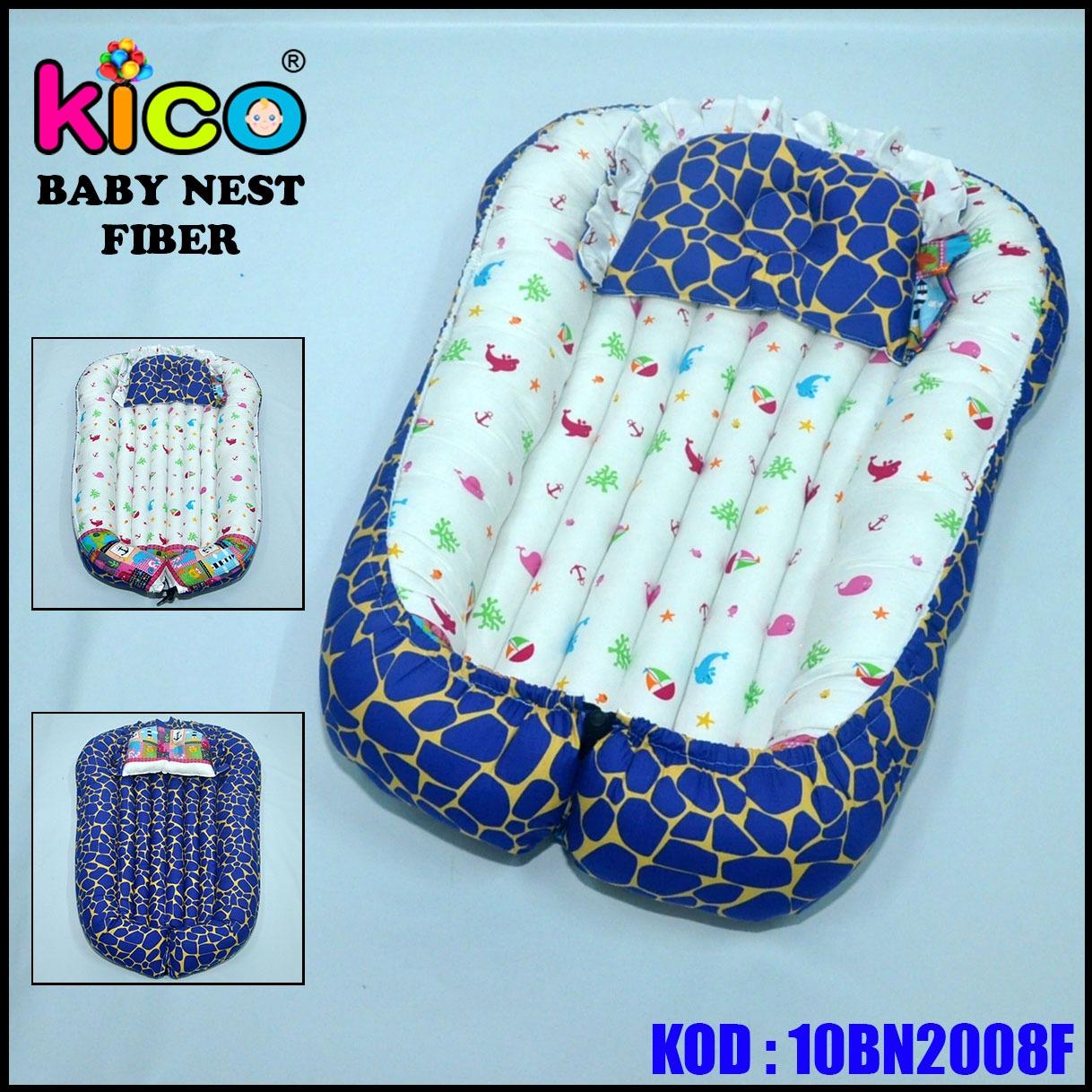Baby Nest Ocean Blue (10BN2008F)