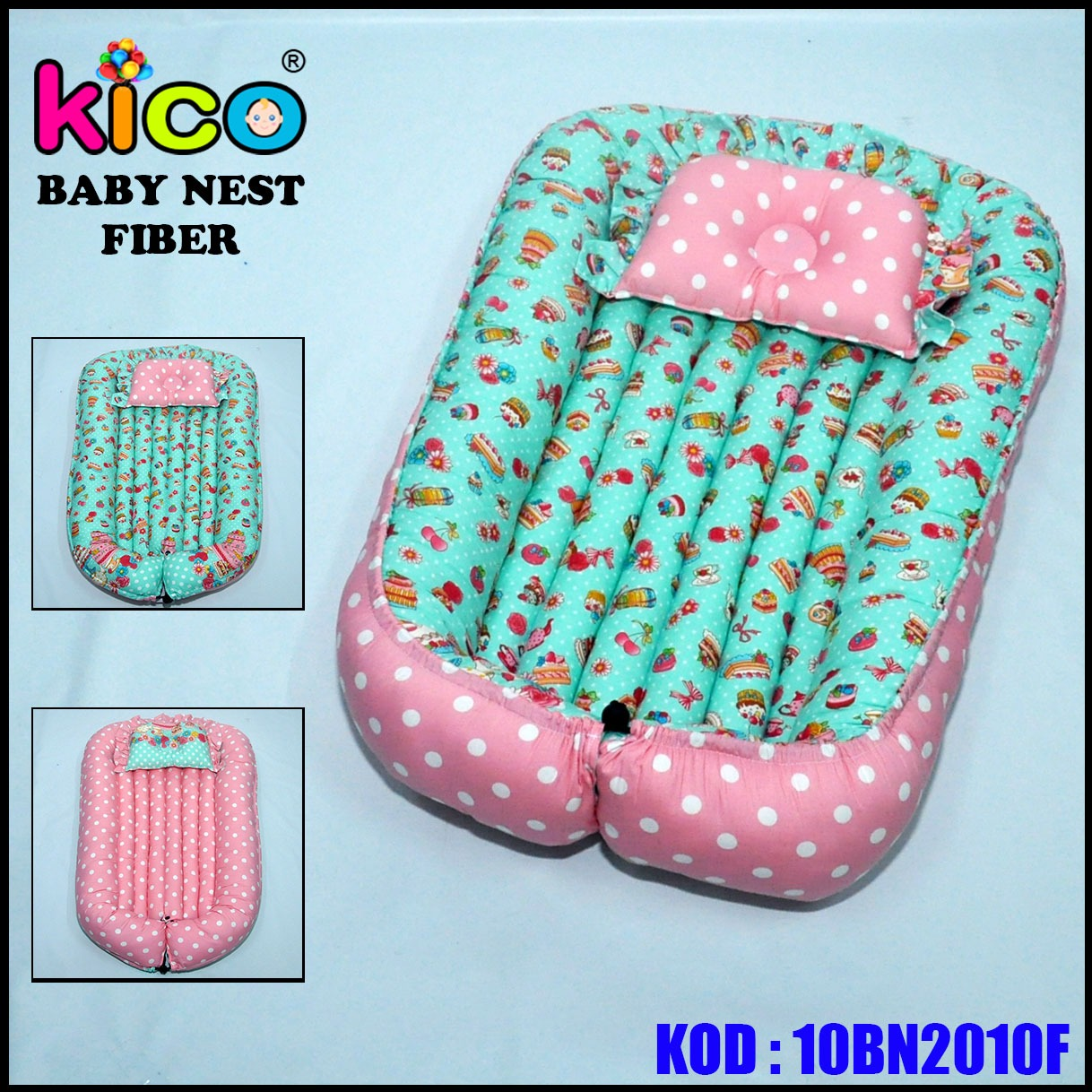 Baby Nest Cake Pink (10BN2010F)