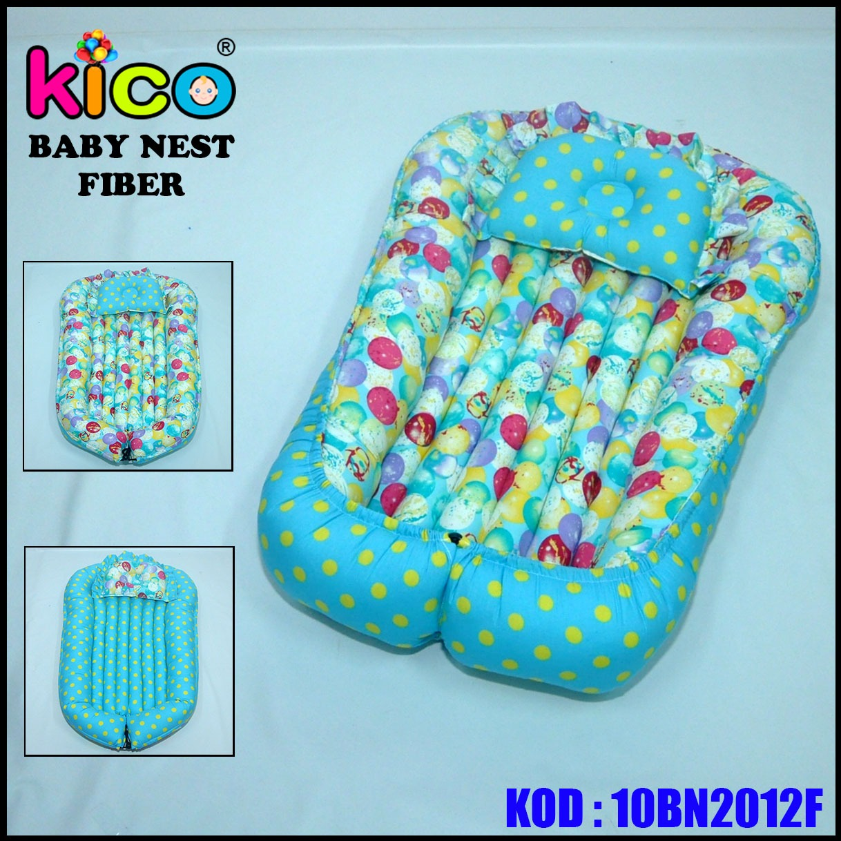 Baby Nest Blue Balloon (10BN2012F)