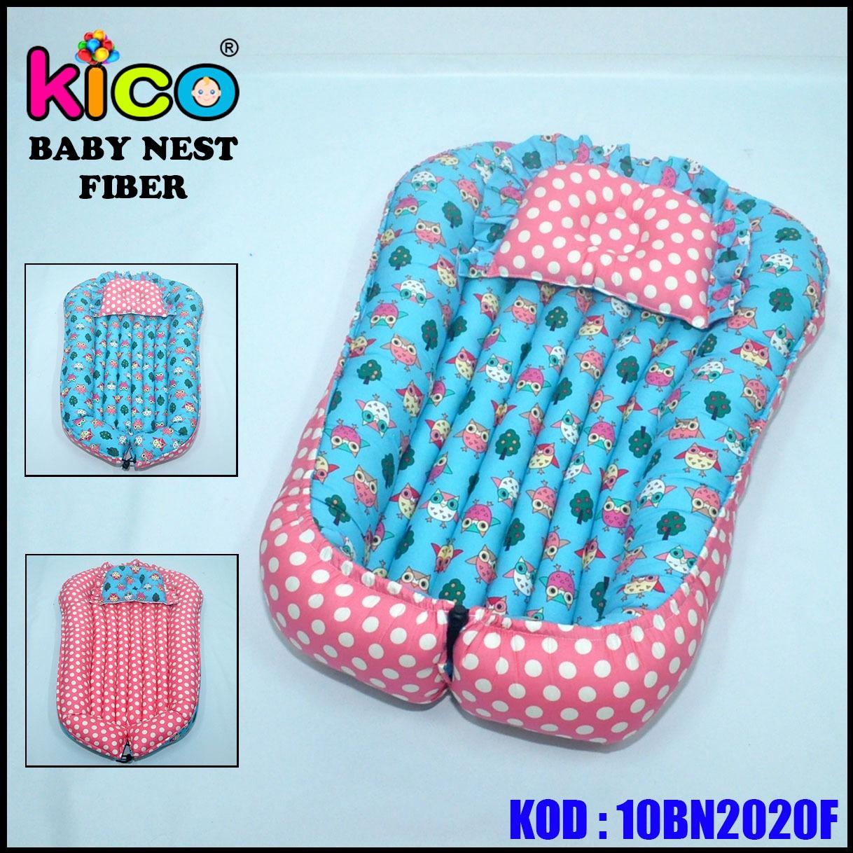 Baby Nest Owl Pink (10BN2020F)