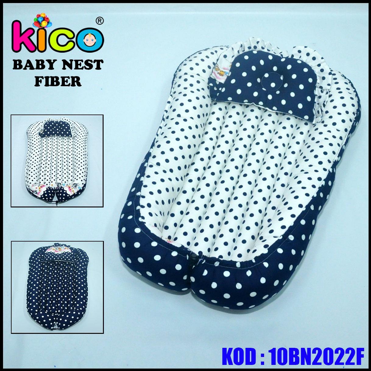 Baby Nest Polkadot Black&White (10BN2022F)