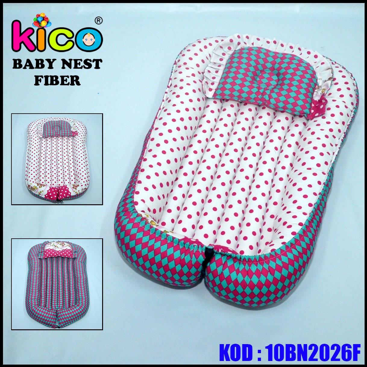 Baby Nest Sweet Pink Polkadot (10BN2026F)