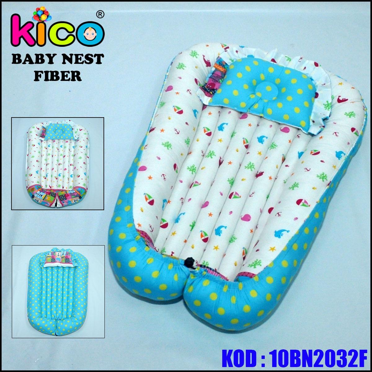 Baby Nest Blue Ocean Polkadot (10BN2032F)