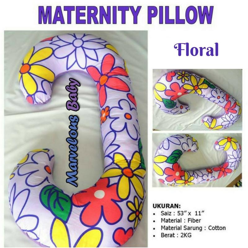 Pregnancy Pillow Floral (Type C)