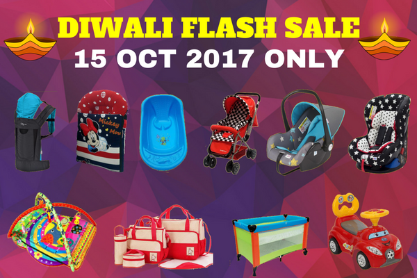 DIWALI FLASH SALE – 15 OKTOBER 2017