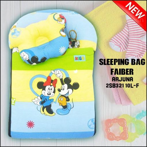 SLEEPING BAG FIBER MICKEY ARJUNA KAIN COTTON ASLI SAIZ L