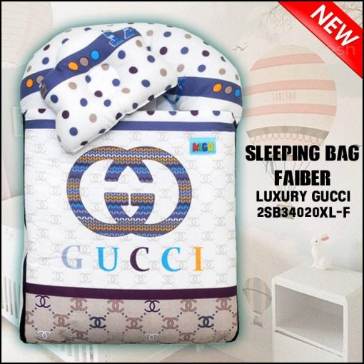 SLEEPING BAG FIBER LUXURY GUCCI KAIN COTTON ASLI SAIZ XL