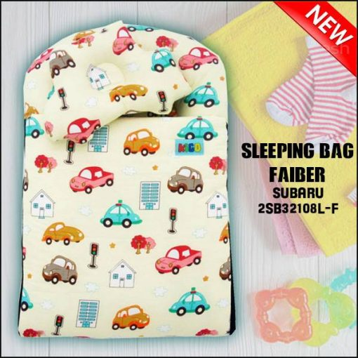SLEEPING BAG FIBER CAR SUBARU KAIN COTTON ASLI SAIZ L