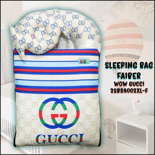 SLEEPING BAG FIBER WOW GUCCI KAIN COTTON ASLI SAIZ XL